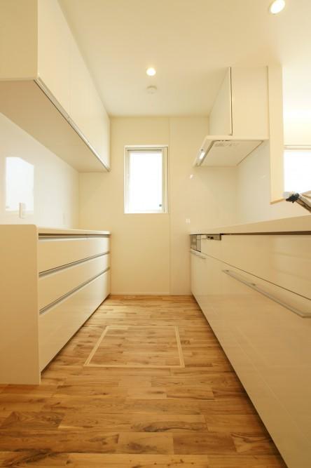 現代和風の平屋 キッチン