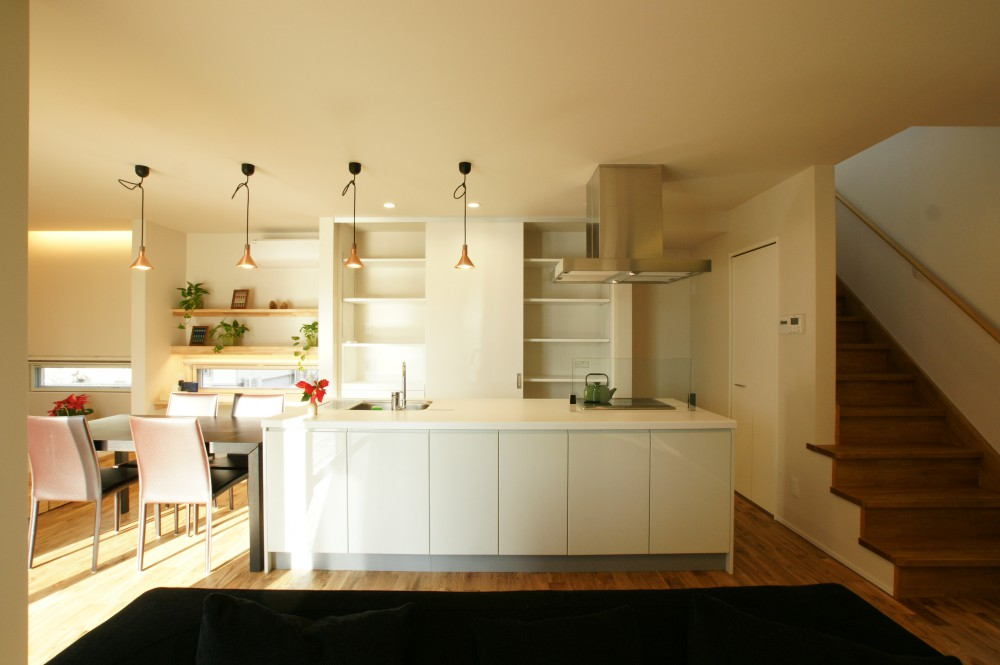 かわいい家 キッチン