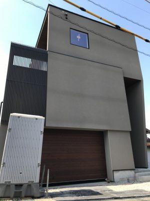 ガレージのある家2