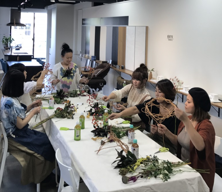 10/11(水) 葉楽さんのワークショップを開催しました