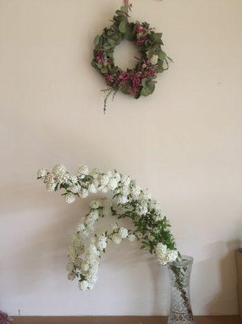 ~お花を飾る~