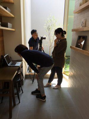 西尾モデルハウスの撮影