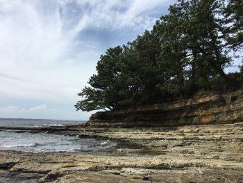 佐久島 地層