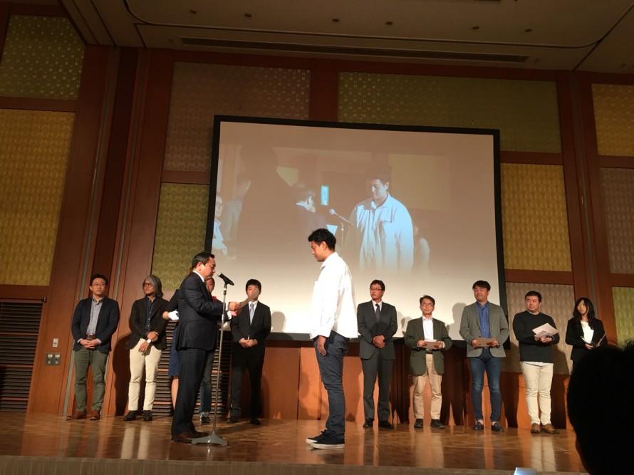 リキュー工事監督が品質管理部門最優秀賞を受賞しました。