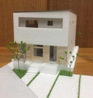二世帯住宅 模型 完成見学会
