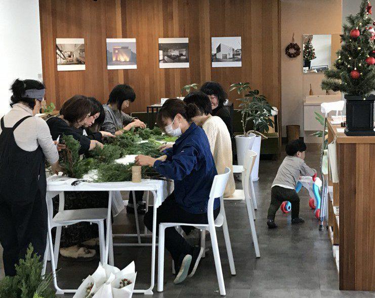 葉楽さんのWS・中学生の職場体験!!